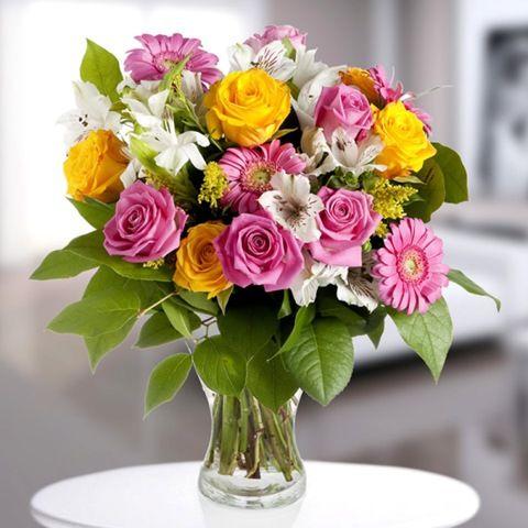 ramo flores cumpleaños | Ideas para el hogar | Pinterest | Ramos de ...