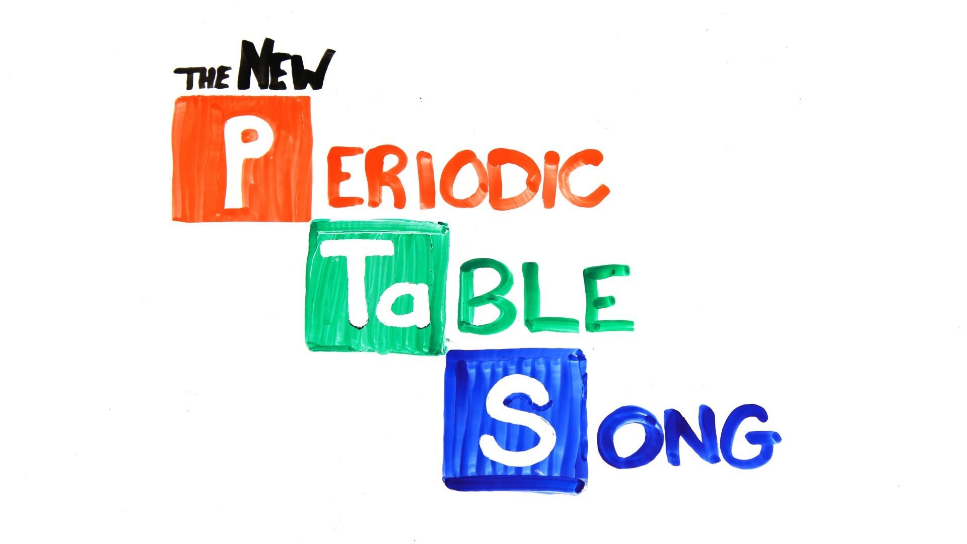 Periodic table song all elements of the periodic chart set to music most have seenheard the periodic table song by tom lehrer here is a new one from asap science recently added it to my science video page have a look urtaz Choice Image