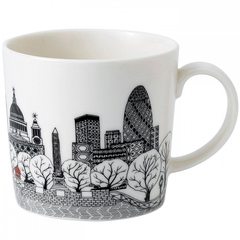 London Gherkin Mug – Charlene Mullen