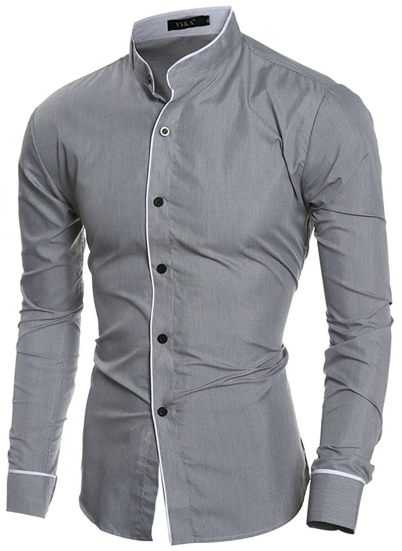 Men S Clothing Shirts Dress Shirts Men Business Casual Plaid Slim Fit Dress Shirts Long Sleeves Casual Shirts For Men Long Sleeve Shirt Men Mens Shirt Dress [ 1500 x 1096 Pixel ]
