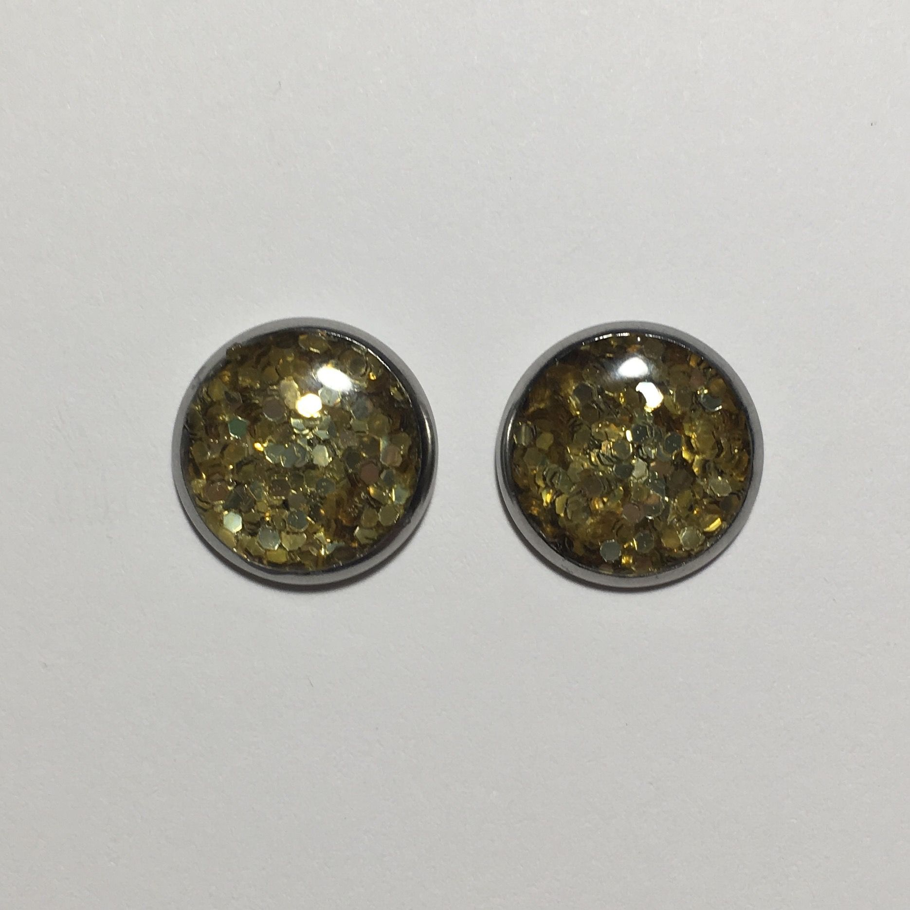 earrings druzy gray earring making cabochons il listing fullxfull set jewelry kit stud sparkle