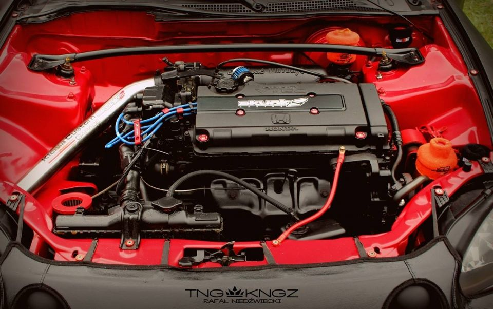 Black Red Sc Ed Del Sol 95 Eg2 Powered By B18c4 Eaton M62 Driiive Com Crash Honda Crx Black And Red Honda