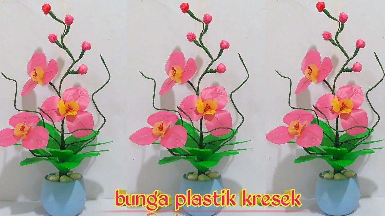 Bunga Plastik Kresek Hiasan Meja Tamu Floral Floral Tape Orchids
