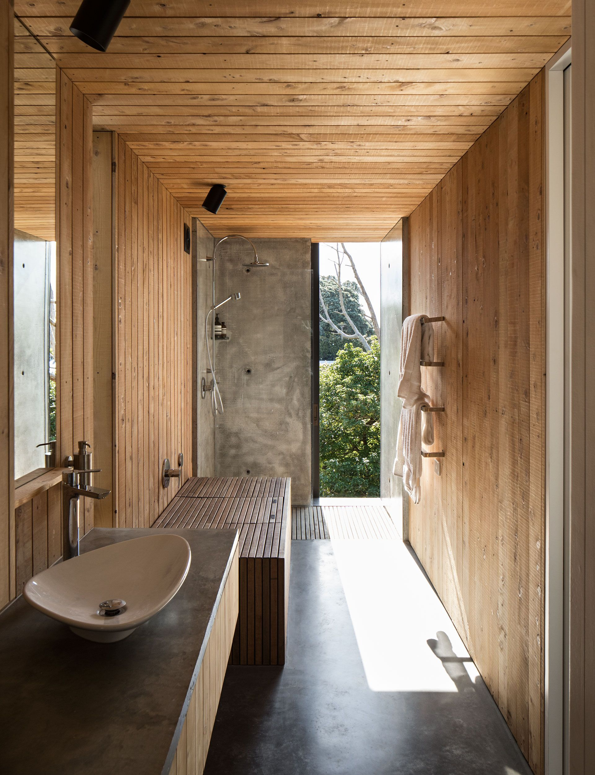 this auckland bathroom used rich materials to create a on bathroom renovation ideas nz id=82021