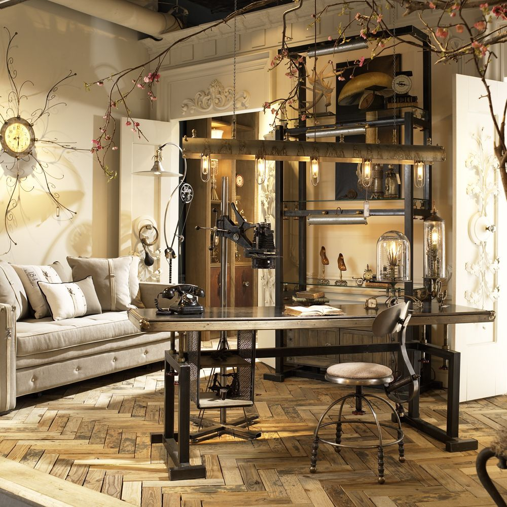 Rustic Industrial Bedroom Furniture