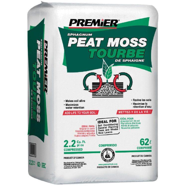 Premier 22 cu ft sphagnum peat moss peat moss potting