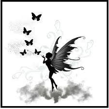 Image result for fairy tattoo silhouette god  #image result #feenh ..   #tattooedmodels