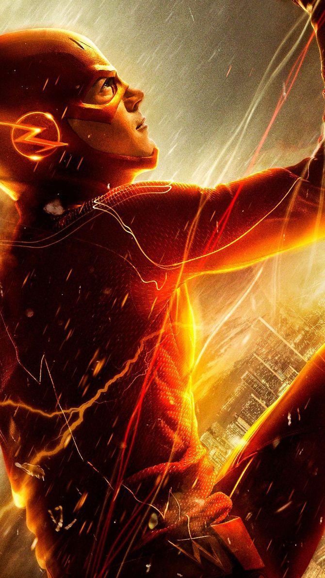 The Flash Phone Wallpaper Flash wallpaper, Flash comics