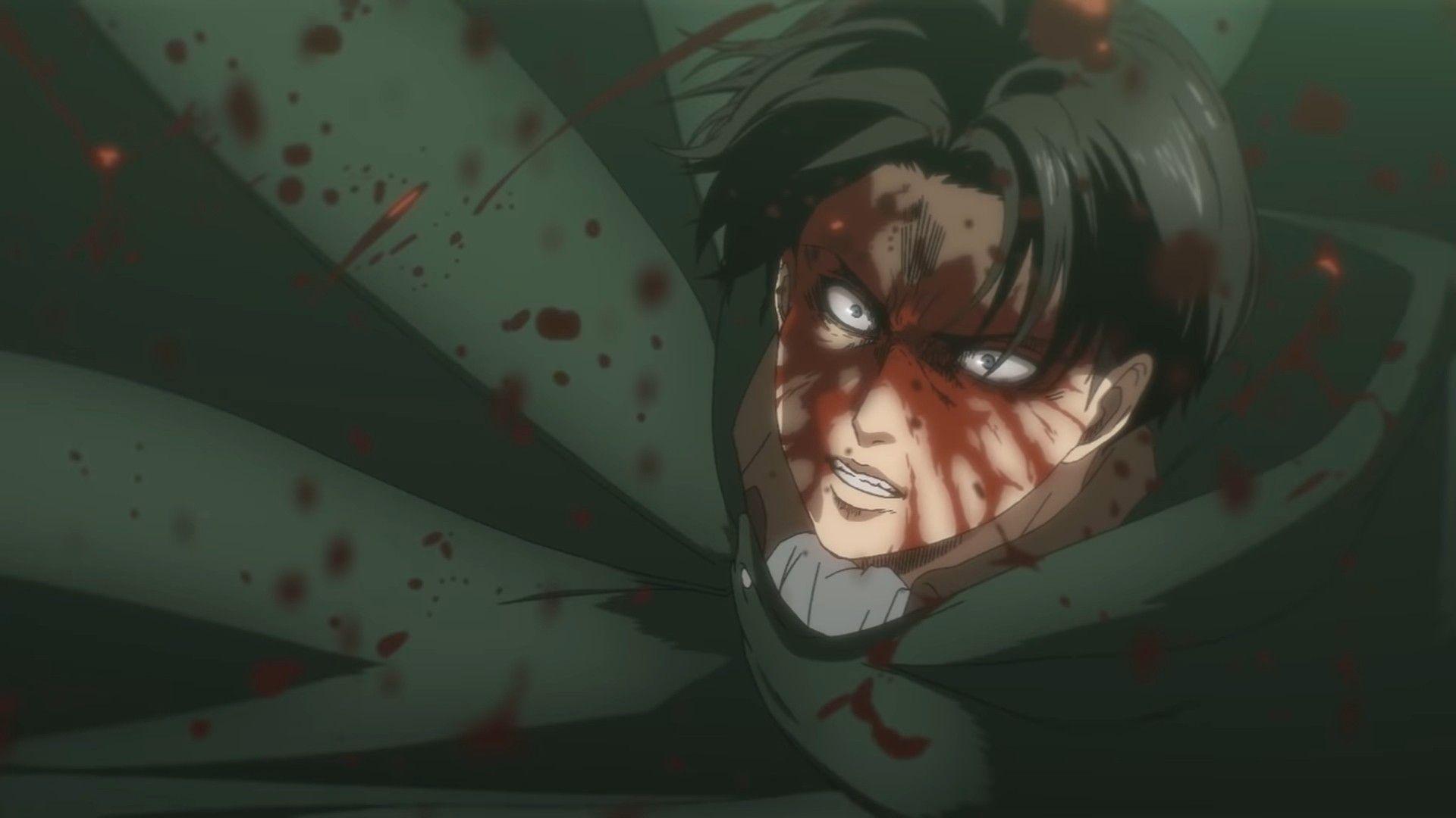Levi Badass Attack On Titan Season 4 Studio Animasi Desain Karakter Historia