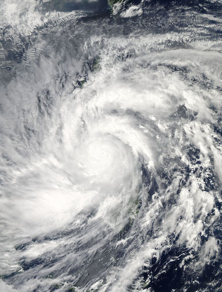 November 8 Typhoon Haiyan Yolanda One Of The Strongest Tropical Cyclones On Record Hits The Philippines An Image Of The Day Philippines Satellite Image
