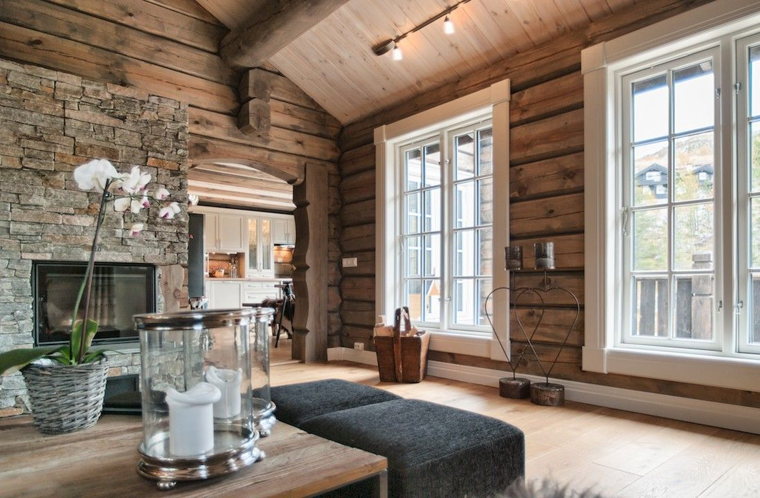 pin von verena maria auf mountain chalet haus haus wohnzimmer und wohnzimmer. Black Bedroom Furniture Sets. Home Design Ideas