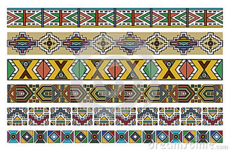 Simple African Border Designs Simple African Border Designs