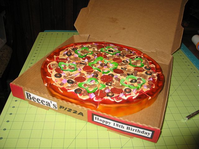 Pizza Cake Finished