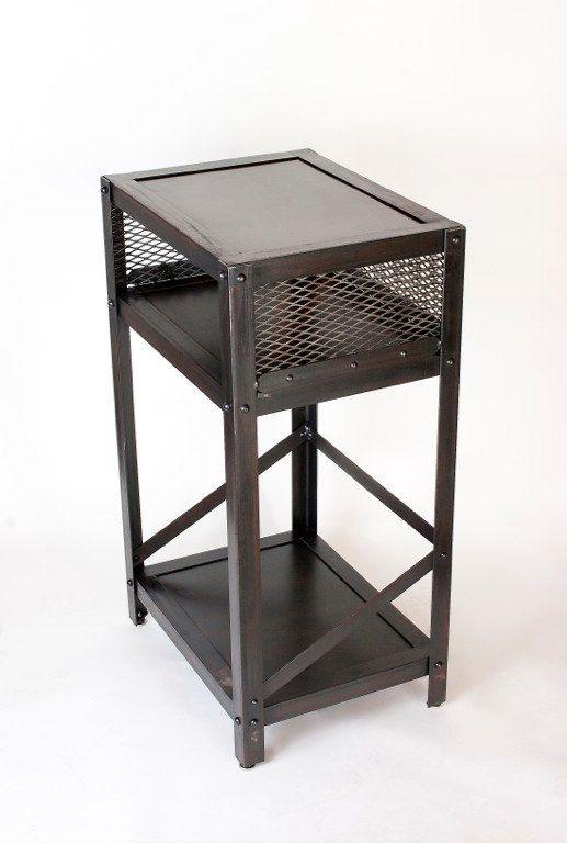 Best Handmade Metal Industrial Table Side Table End Table 640 x 480
