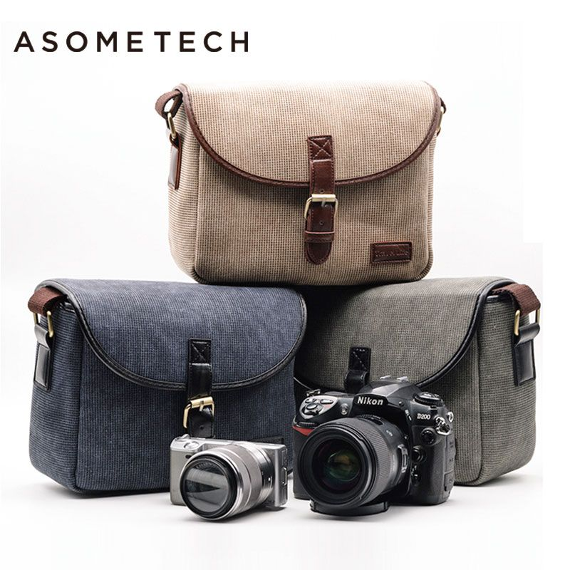 Photo Bag Dslr Camera Digital Gear Bags Shoulder Backpack For Sony A6000 Nikon D3200