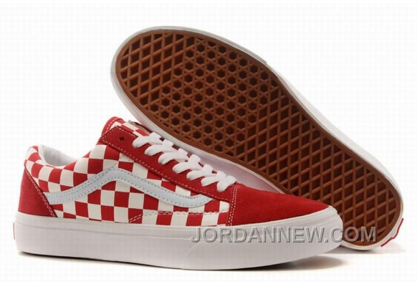 http://www.jordannew.com/vans-old-skool-classic-checkerboard-red ...