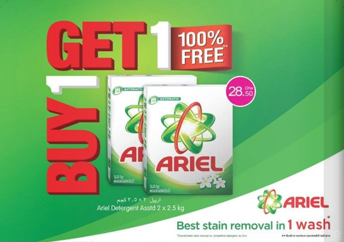 Buy Get FREE Ariel Detergent Choithrams Your Best Stain - Deepavali special at the green furniture offers valid while stocks