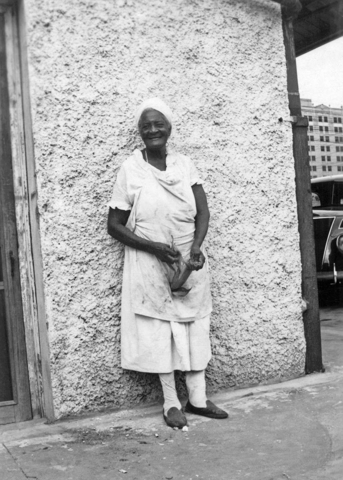 History in Photos: Born in Slavery.  Ellen Butler ex-slave, Beaumont, Texas, 1937.