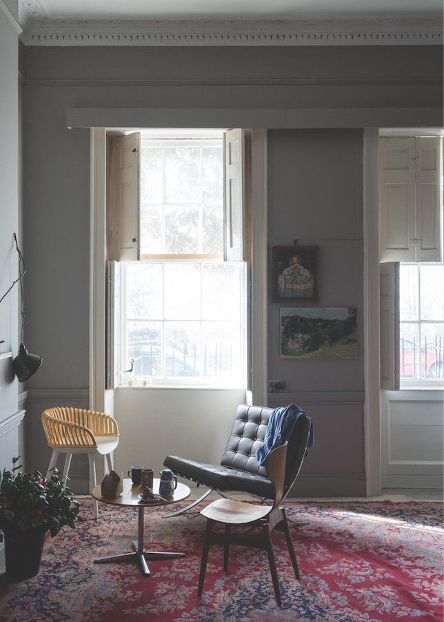 Powdery Dark Warm Worsted A New Colour From Farrow And Ball Looks Gorgeous And Wou Farrow And Ball Living Room Farrow And Ball Paint Farrow And Ball Bedroom