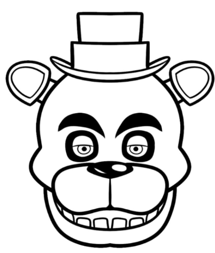 Coloring Books Image By Amanda In 2020 Fnaf Drawings Freddy