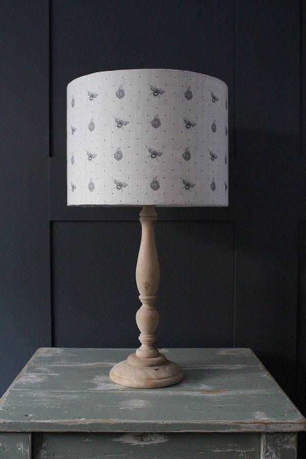 Blackberry And Bee Lampshade