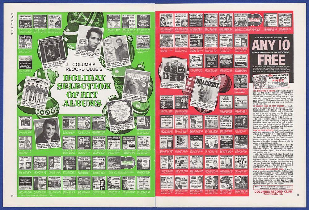 Vintage 1967 Columbia Record Club Music Albums Holiday Christmas Print Ad 60 S Ebay Music Albums Print Ads Vintage Ads