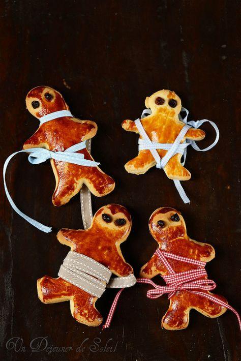 Mannele ou Manala, petits bonshommes briochés pour la Saint Nicolas - Un déjeuner de soleil