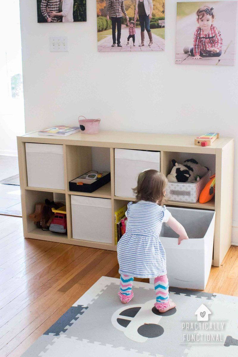 Simple Toy Organization That Really Works This Simple Toy Organization System Is The Best Just Cube Stor Toy Organization Simple Toys Kids Room Organization