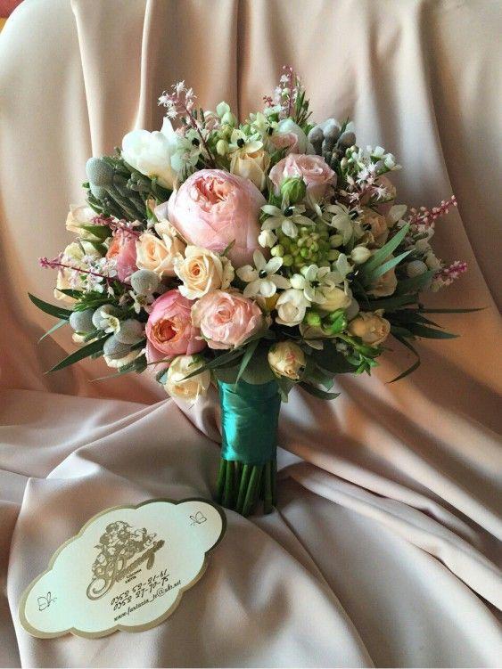 Салон квітів «Фантазія». Весільний букет  ff2d6924d2321