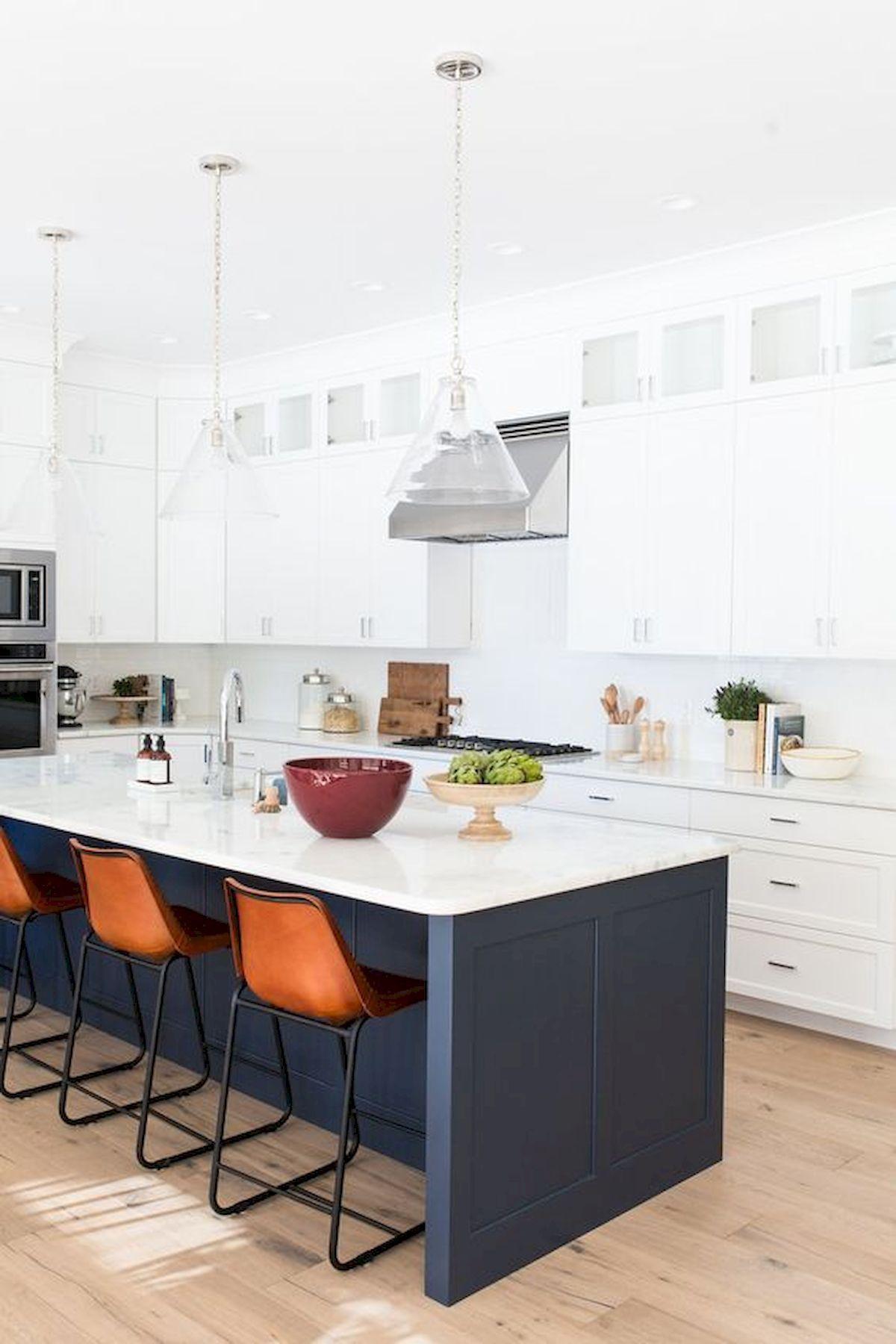 50 Stunning White Kitchen Design Ideas And Decor Carolanne News Kitchen Interior White Kitchen Decor White Kitchen Design