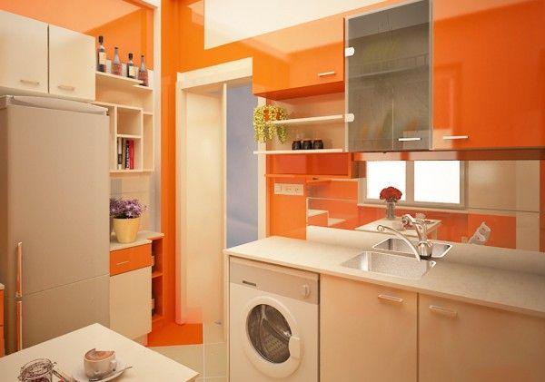 Cocina naranja la magia del color pinterest cocina for Cocinas interiores