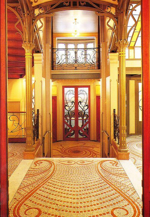 Interior Design Art Nouveau H 244 Tel Tassel By Victor Horta