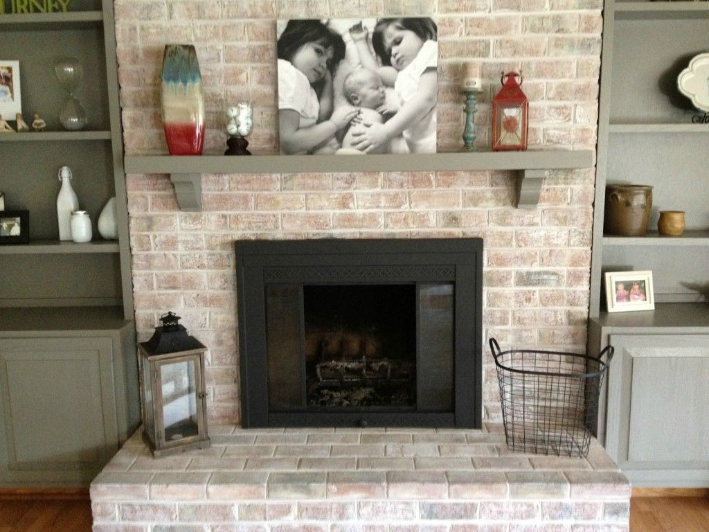 Possible Fireplace Makeover Brick Fireplace Remodel Brick Fireplace Makeover White Wash Brick Fireplace