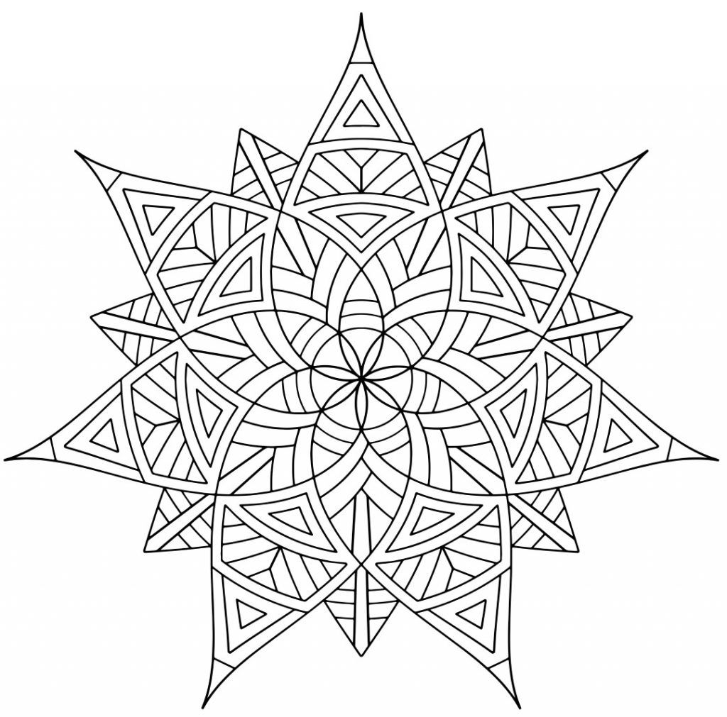coloring.rocks! | Mandala coloring pages, Flower mandala ...