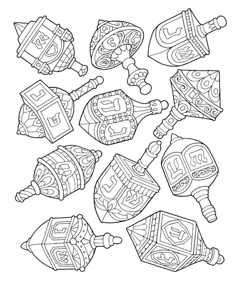 Coloring Rocks Hanukkah Crafts Hanukkah Art Coloring Pages [ 1024 x 843 Pixel ]