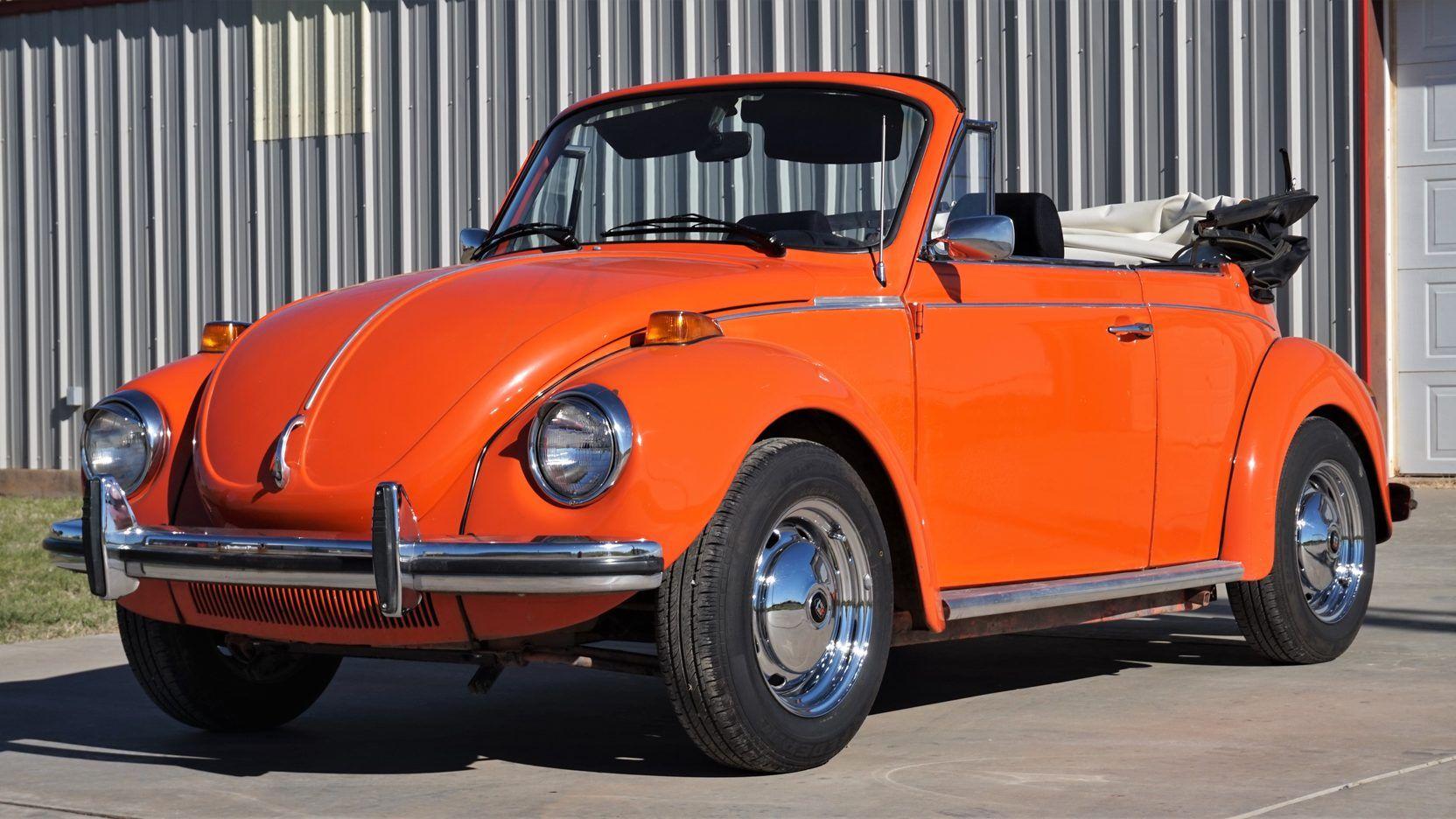 1973 VW Super Beetle 1600cc. Houston Mecum Auctions, Lot T109 ...