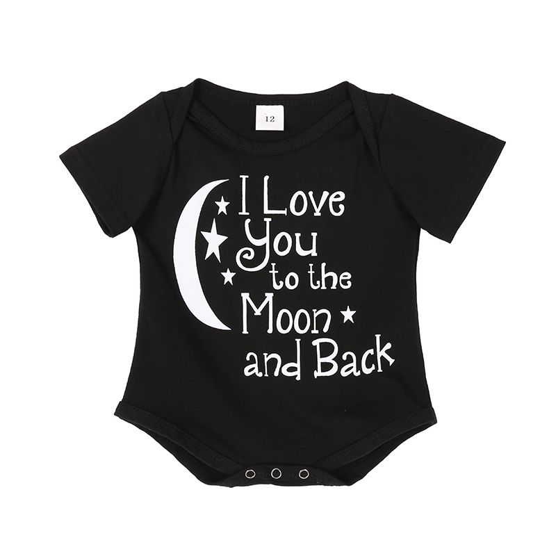 ffd2026f2 Newborn Baby Boys Rompers Costumes Lovely Child Letters Printed ...
