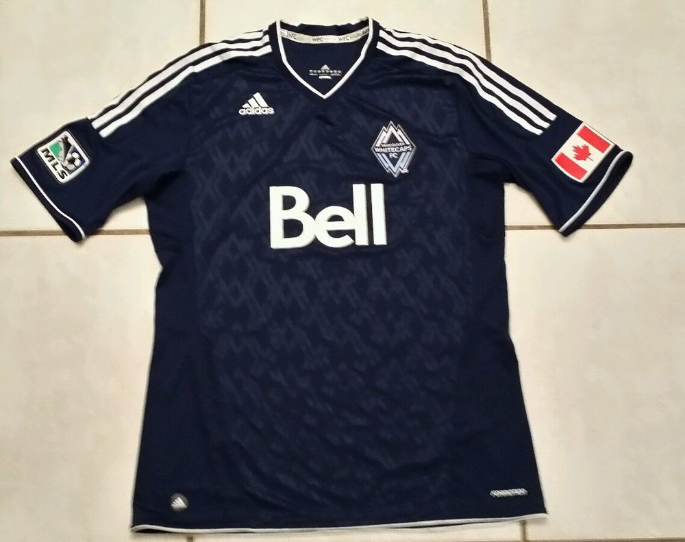 ADIDAS Formotion Vancouver Whitecaps MLS Soccer Jersey Men's XL #adidas  #VancouverWhitecaps