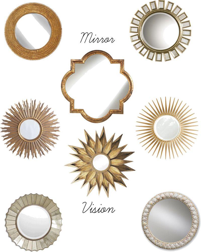 Wohnzimmer spiegelmöbel magical mirrors  black gold u white home decor  pinterest
