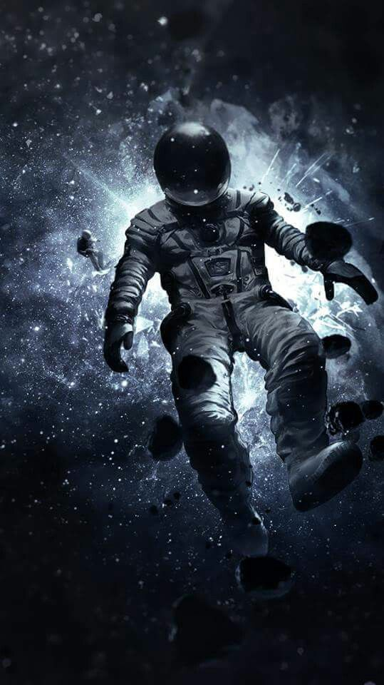 astronaut lost in space wallpaper - photo #4