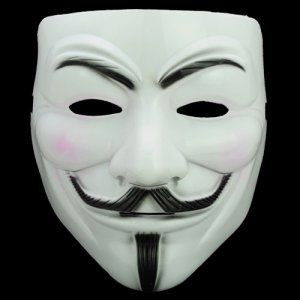 V for Vendetta (love the movie and mask, I'm thinking of buying the mask from this site)
