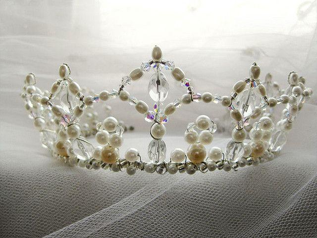 Renaissance Bridal Crown Diy Tiara Beaded Crown Wire Crown