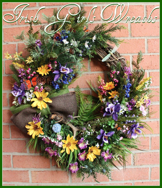 Pin on Irish Girl's Wreaths