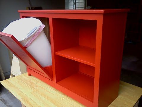 Amazing Tilt Out Storage Bin And Shelf! Perfect Kitchen Storage
