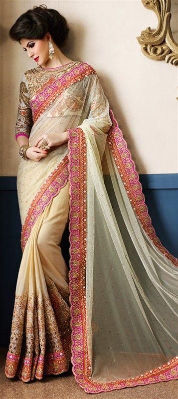 697abab3e7023a Indian Designer Party Wear Saree | indian Saree | Saree wedding, Party wear  sarees, Indian bridal wear