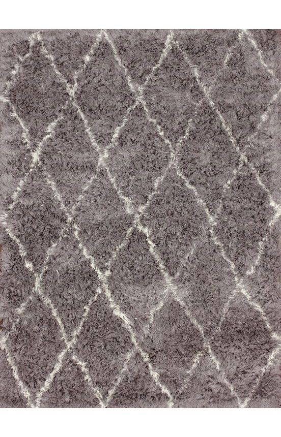 $5 Off when you share! Tuscan Moroccan Shag Grey Rug   Contemporary Rugs #RugsUSA