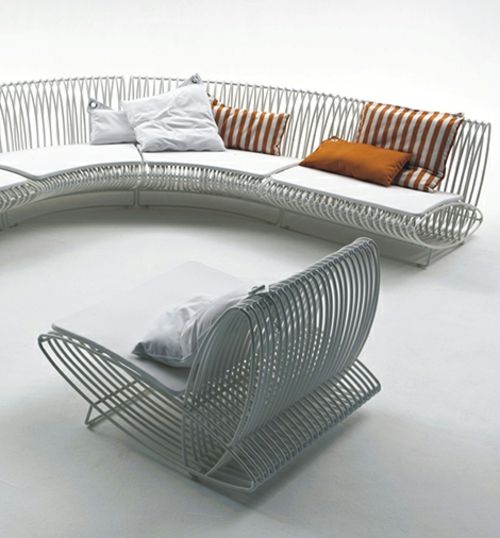 Rattan Gartenmöbel Ideen - Gestalten Sie Ihren Balkon Und Garten ... Rattan Gartenmobel Terrassen Ideen