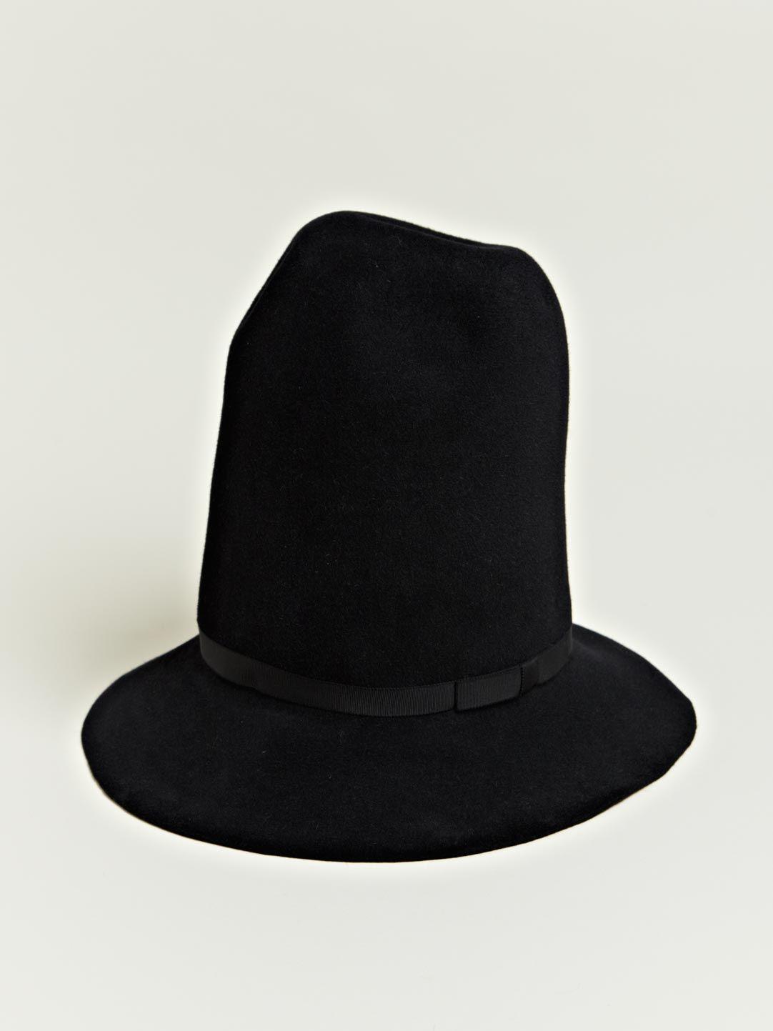 901096619bf Yohji Yamamoto Felt Mountain Hat