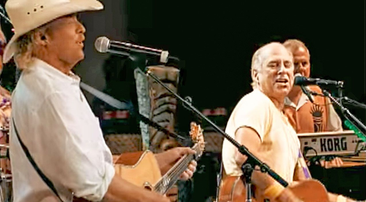 Jimmy Buffett Alan Jackson Say Bottoms Up With Tropical It S 5