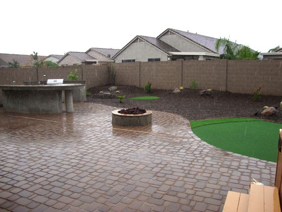 Arizona Backyard Landscape Design After Desert Backyard